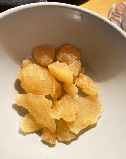 CBD Oil Wax Crumble Orange